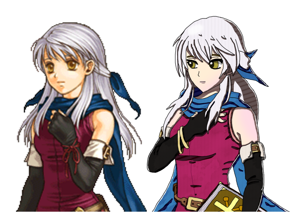 Micaiah If/Fates style. by thepontusandersson