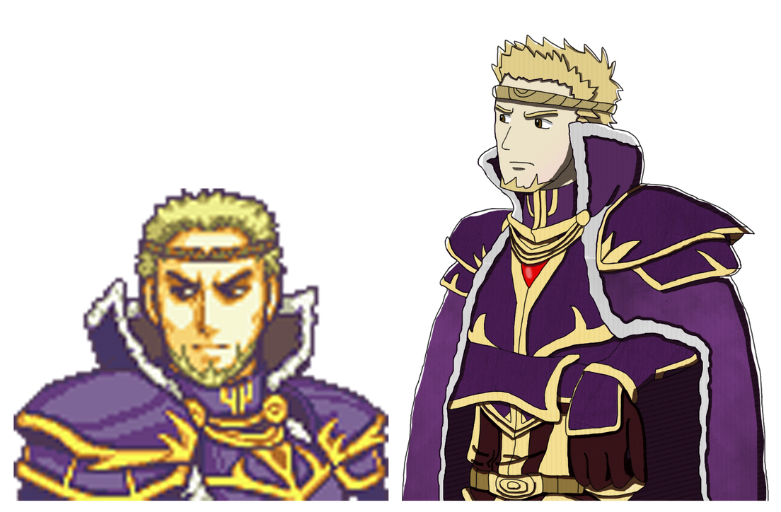 Zephiel If Fates style by thepontusandersson