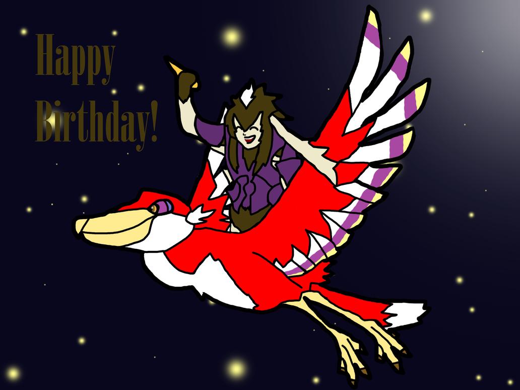 Happy Birthday Rhychu by thepontusandersson