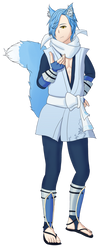 Shigure - Kitsune by ThePontusAndersson
