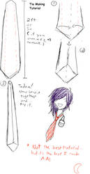 Tie Making Tutorial by 275-267