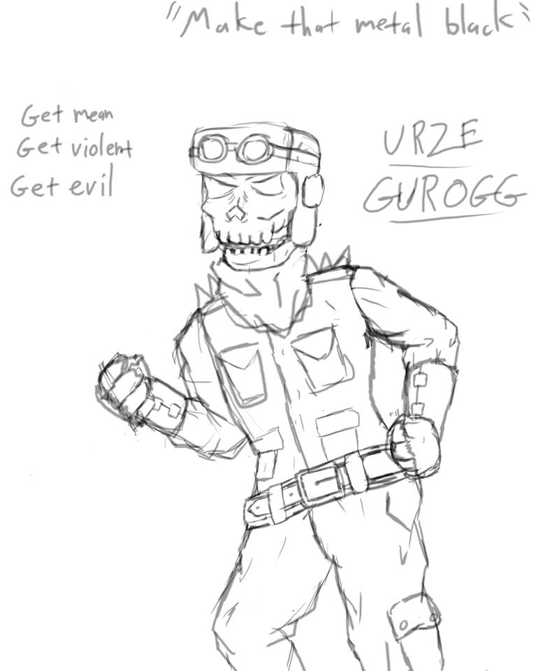 Urze Gurogg (WIP) by Wax-Master