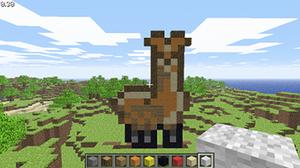 Minecraft Llama by Xynarrr