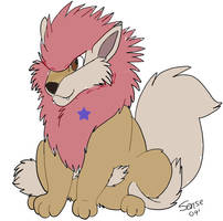 Takeru A gift to Sheltie by PsychedelicAnimagus