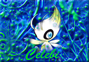 Celebi Creation by PsychedelicAnimagus
