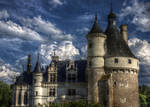 Chateau de Chenonceau, France by AnneCruikshank