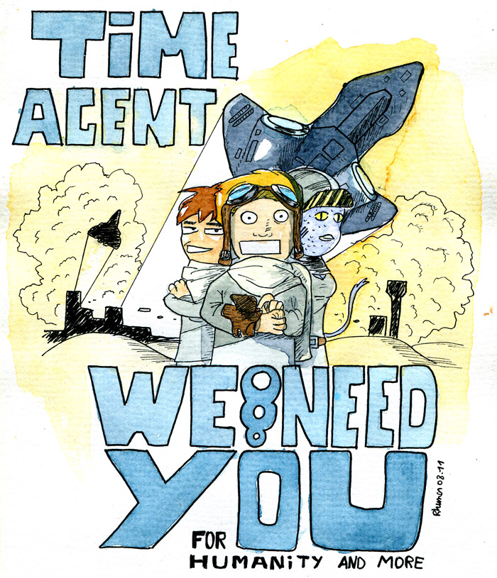 Time agent by Rhumer