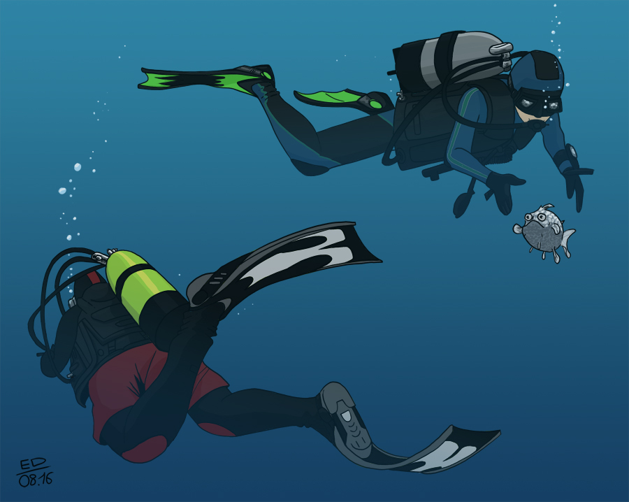 Divers by Rhumer
