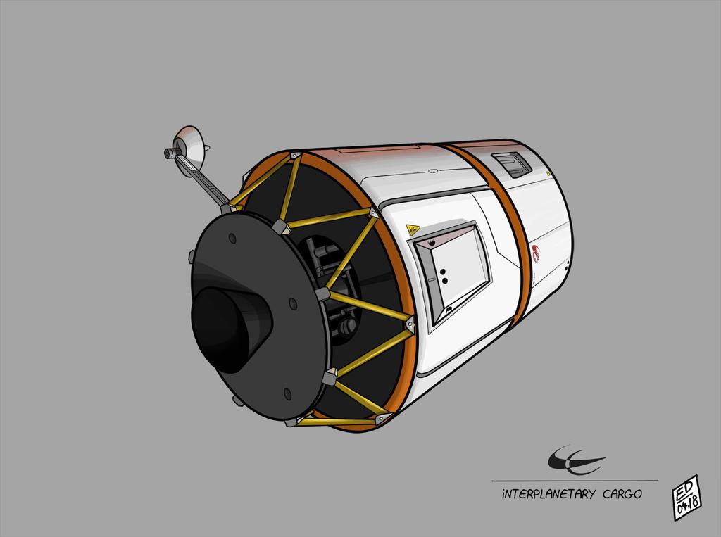 Interplanetary Cargo 2 by Rhumer