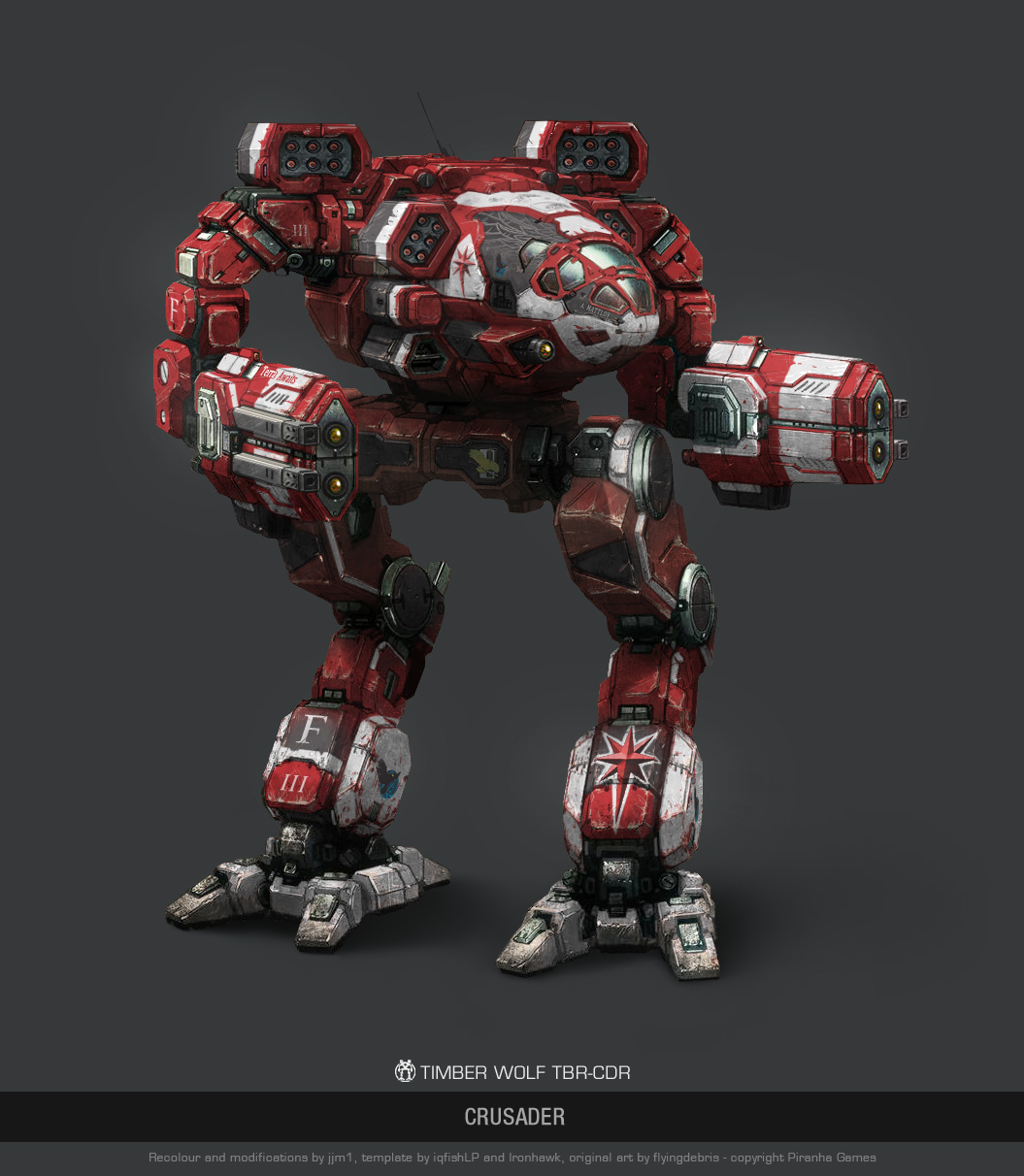 mwo timber wolf crusader by user000000000001 on deviantart