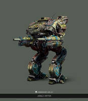 MWO - Linebacker - Jungle Critter by user000000000001