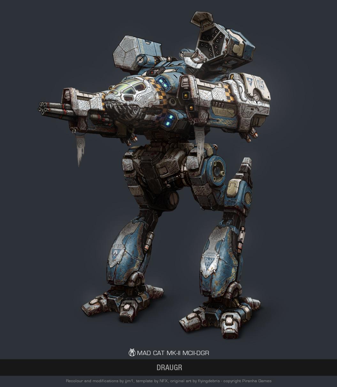 Mechwarrior Online Osiris Battletech with variants parts