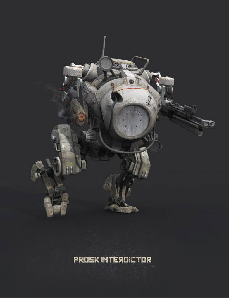 Hawken - Prosk Interdictor by user000000000001 on DeviantArt