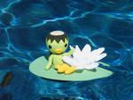 Kippa on a Lily Pad
