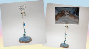 Ocean Photo Holder by bumblefly