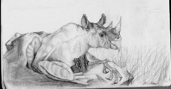 Rhinog by bumblefly