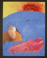 Scenery with Sloppy Joe Slug by bumblefly