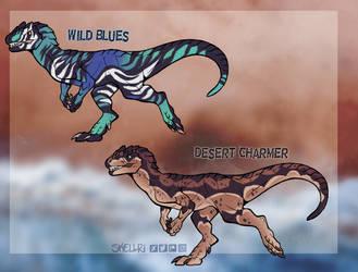 Allosaurus Adopts (CLOSED)