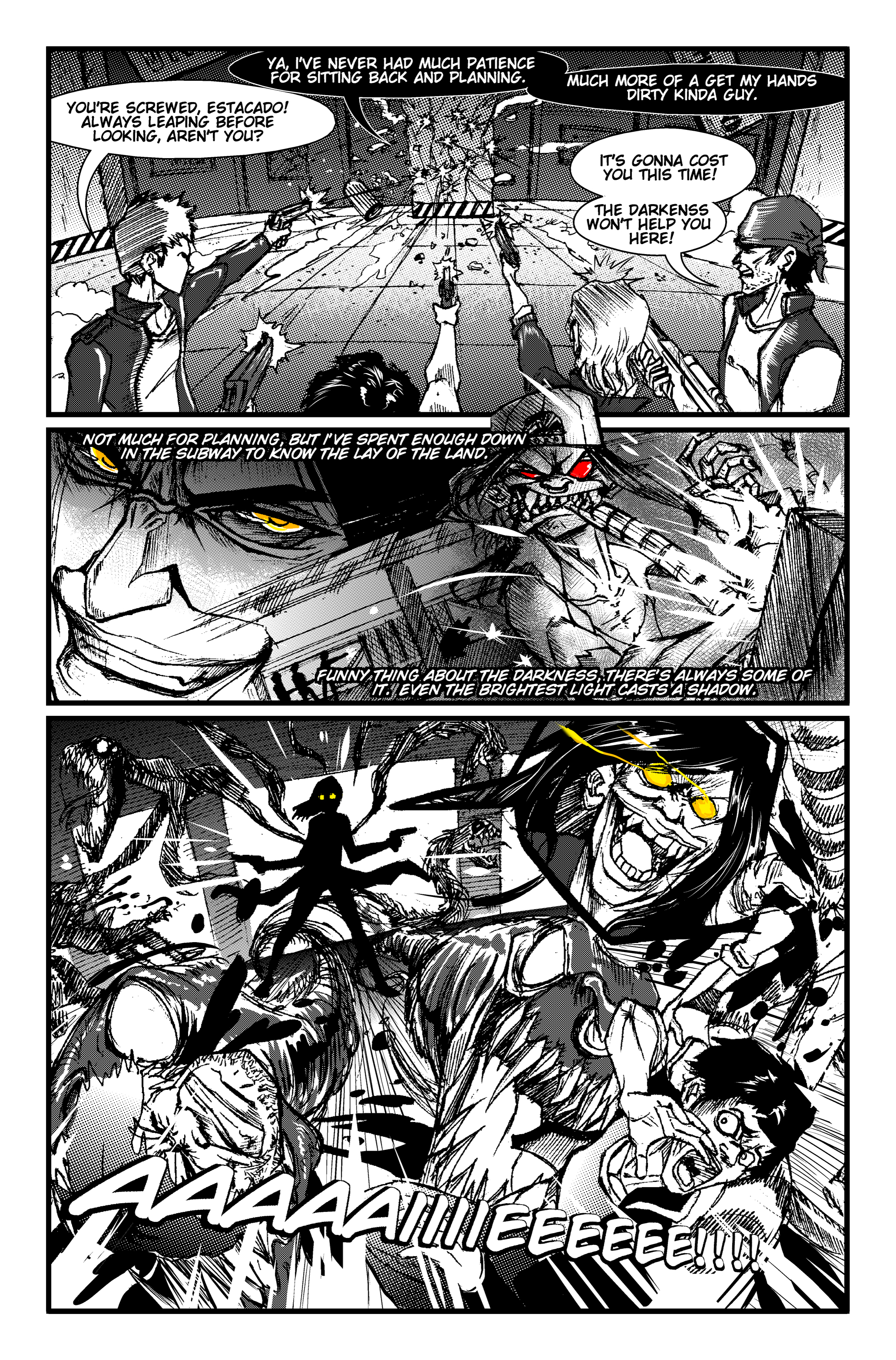 The Darkness Comic Contest By Raging Akujiki On Deviantart