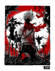 Hatake Kakashi - Soldier in a Field of Scarecrows