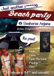 Just another f****ng beach party