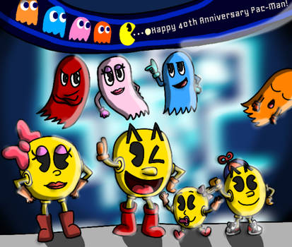 Happy 40th Anniversary Pac-Man!