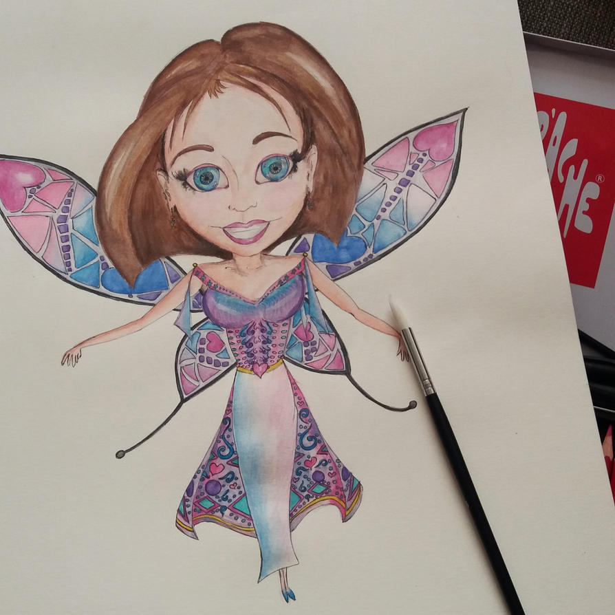 Wind little Fairy by auravaz