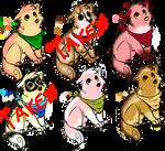 Dessert pup adopts! [OPEN 4/6]