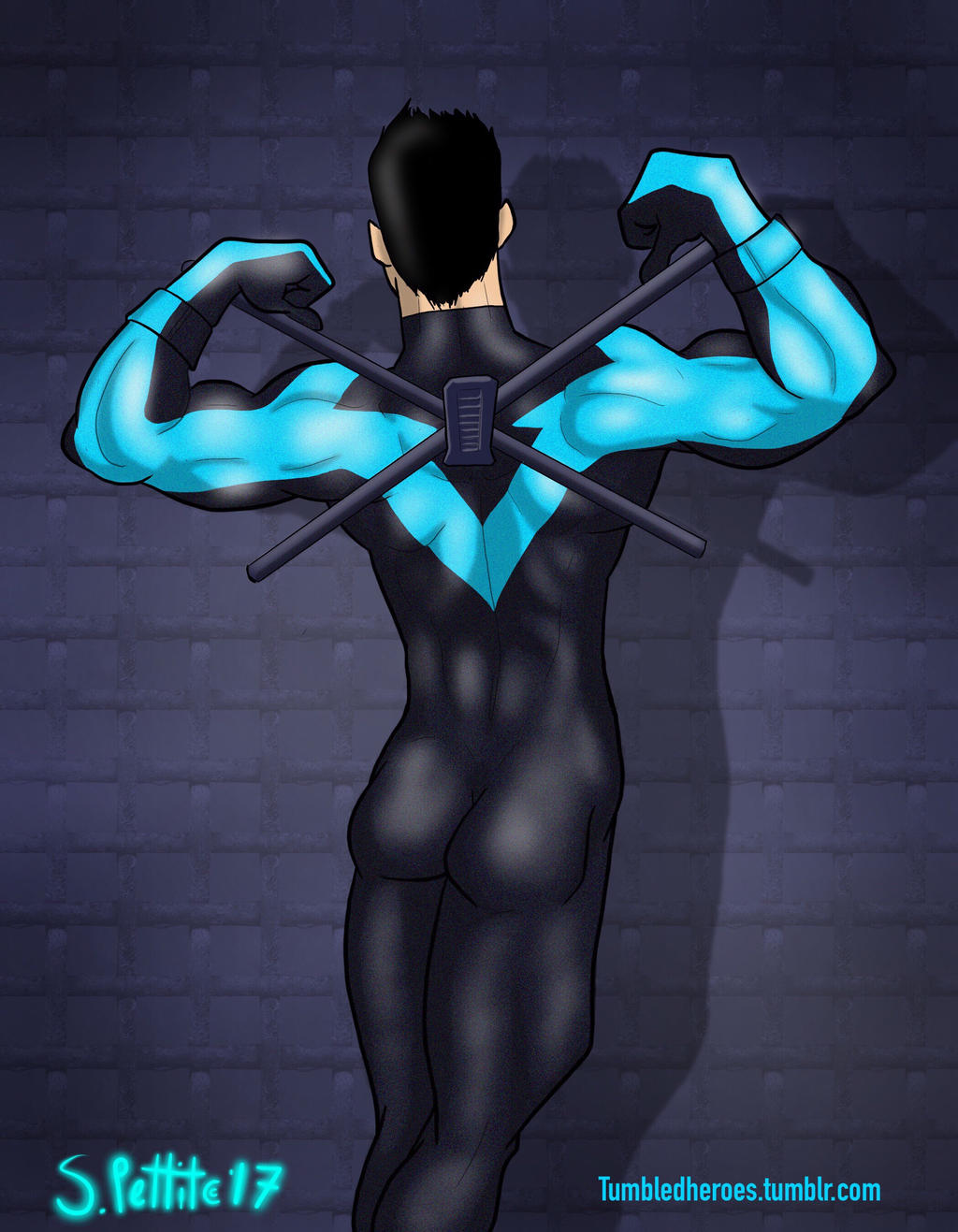 Nightwing by TumbledHeroes