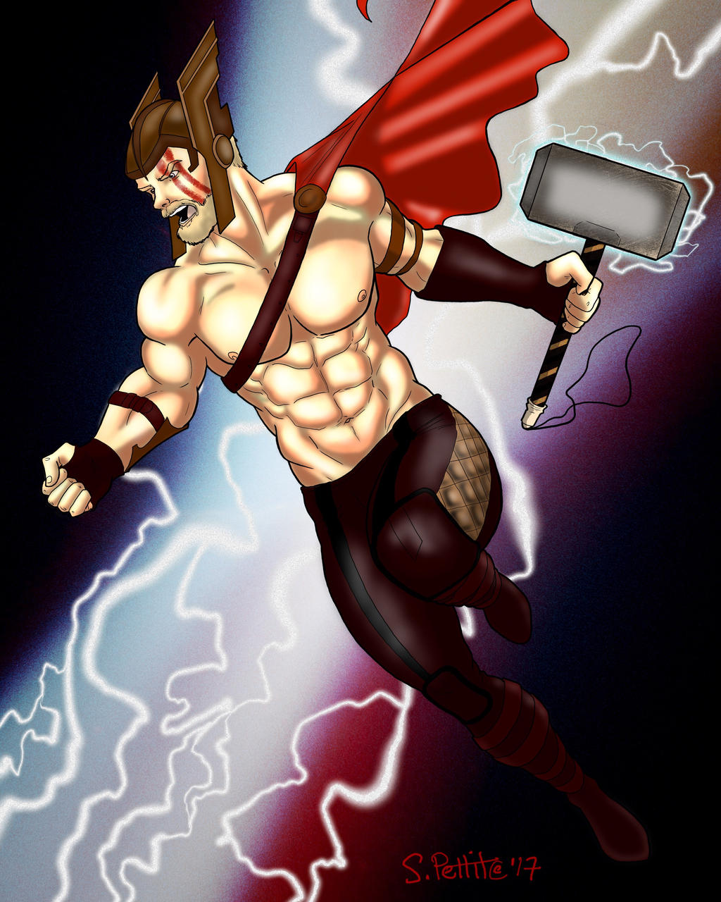 Thor by TumbledHeroes