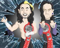 Hardy Boyz by CristianSJuarez