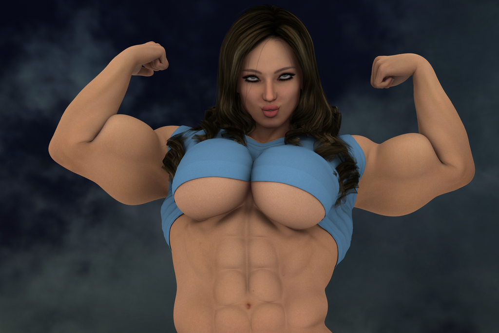 female muscle domination stories