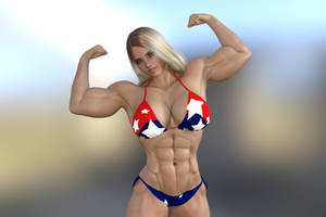 Lina, a young Swedish bodybuilder by jstilton