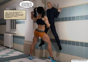 sticking the teacher op the wall by jstilton