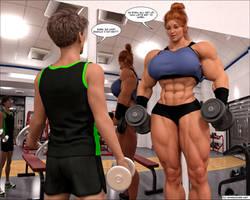 muscle romance is out! by jstilton