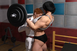 lifting weights and boys by jstilton