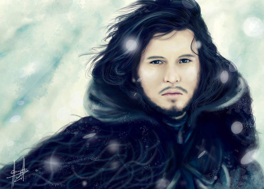 Game of Thrones: Jon Snow by charychu