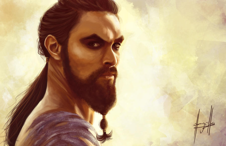 Game Of Thrones Khal Drogo By Charychu