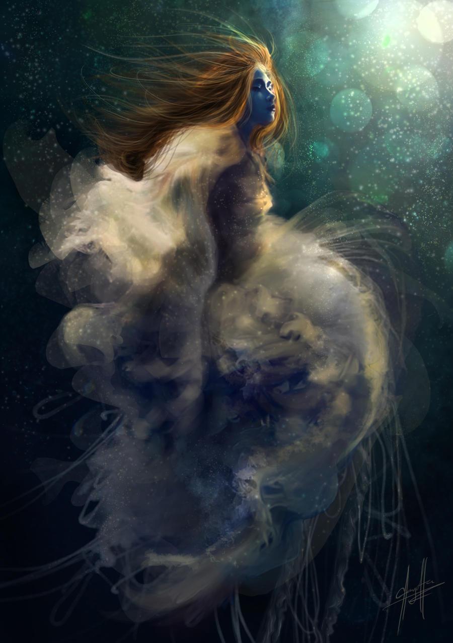 A strange kind of cosmic feeling by charychu