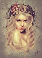 Wallflower by charychu
