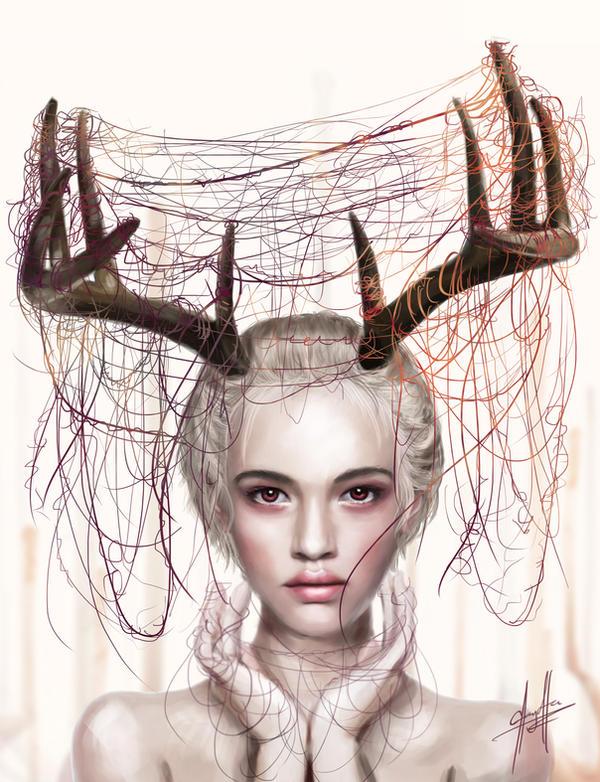 Deer by charychu