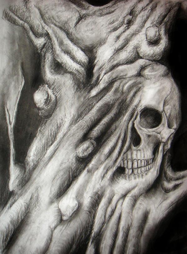 Evil skull by velvetcat on DeviantArt