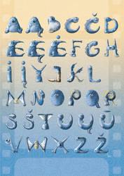 Cute Monster Alphabet