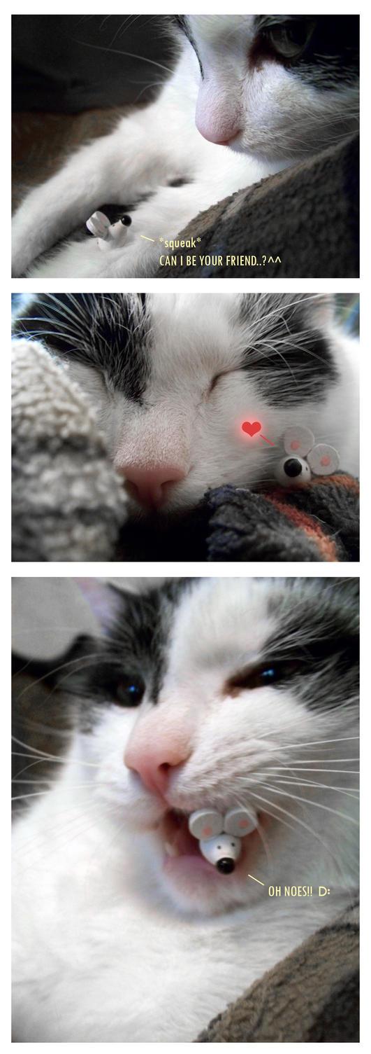 Friends by velvetcat