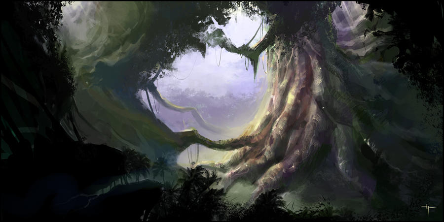 Forest concept by velvetcat