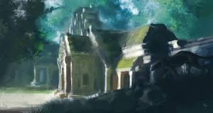 Black Temple by Vindrea