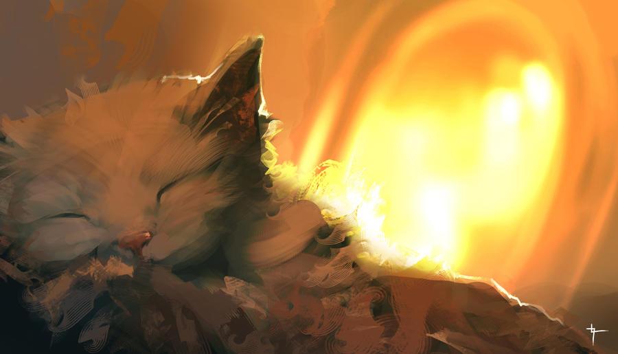 The cats of Ulthar by velvetcat