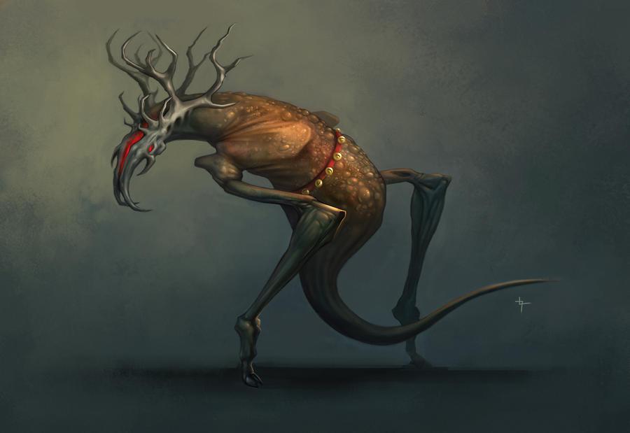 Santa's Reindeer by velvetcat