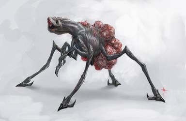 Egg Carrier Creature concept by Vindrea