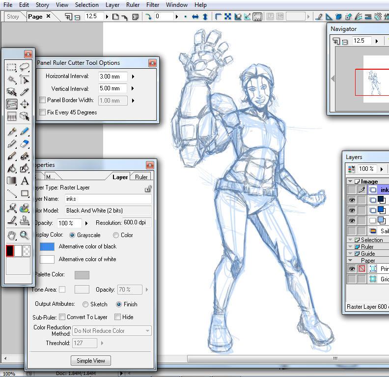 Cage Sketch